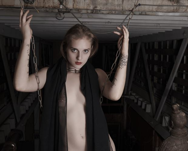 soukey in the loft artistic nude photo by photographer jefflamarche
