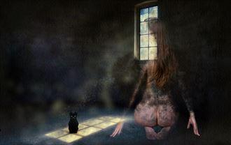 soulmates artistic nude artwork by artist derbuettner