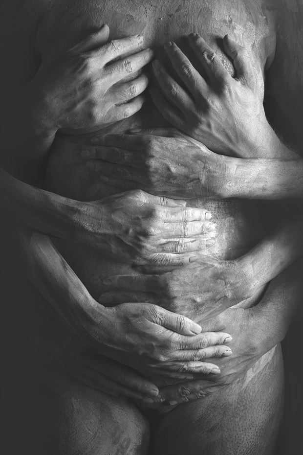 sparsh the healing touch series 004 artistic nude photo by photographer redefining realism