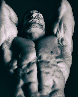 sparta artistic nude artwork by photographer bob simpson