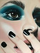 speak no evil close up artwork by artist leesa gray pitt