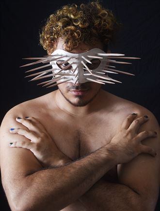 spiked mask ii fantasy photo by photographer ebutterfieldphotog