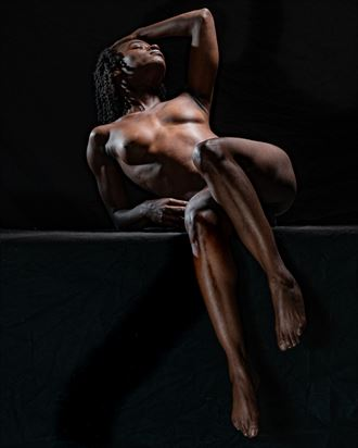 spotlight artistic nude photo by photographer len cook