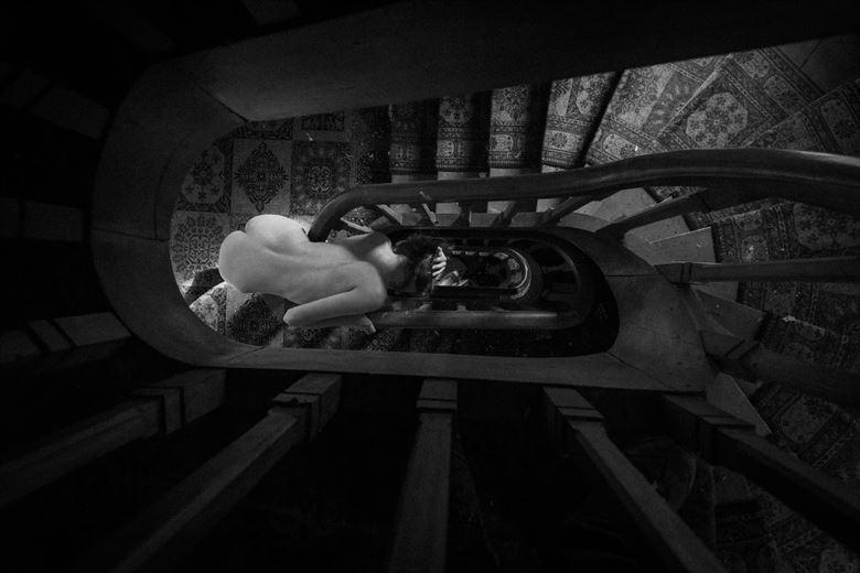 spyral artistic nude photo by model nelenu