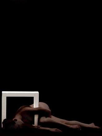 square 3 Artistic Nude Artwork by Photographer Robert Esseboom