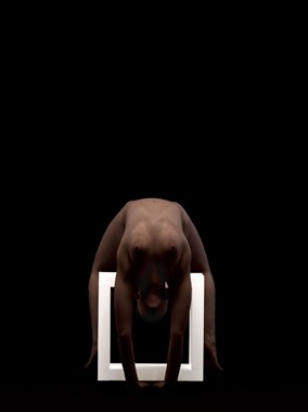 square 4 Artistic Nude Artwork by Photographer Robert Esseboom