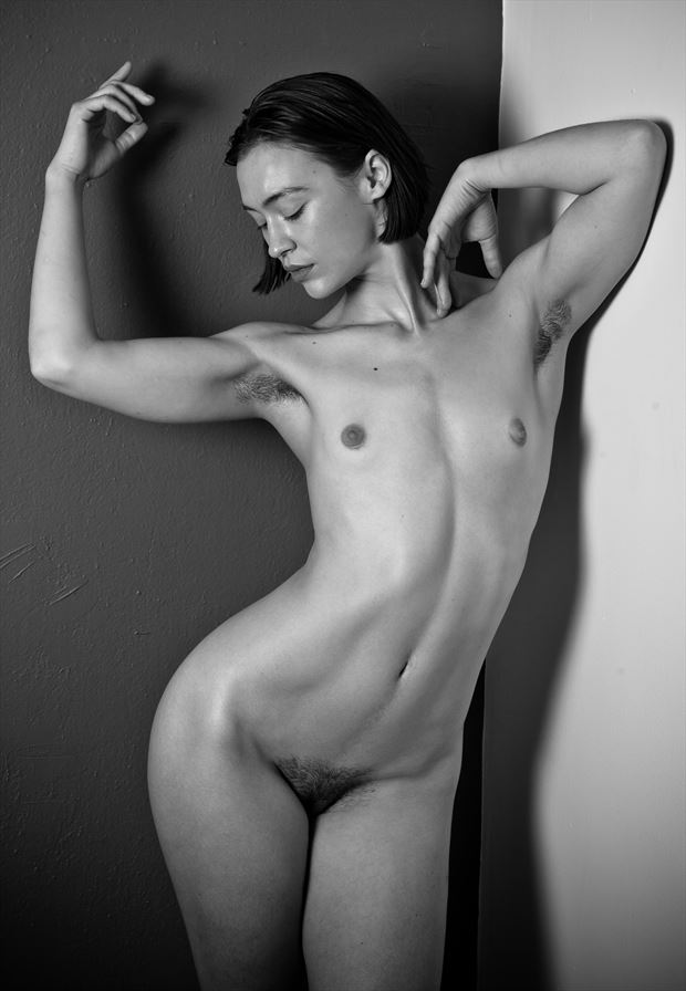 standing nude lovinia moon artistic nude photo by photographer risen phoenix