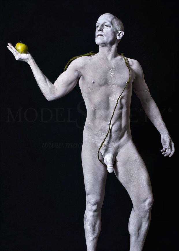 statuary 3 artistic nude photo by model avid light