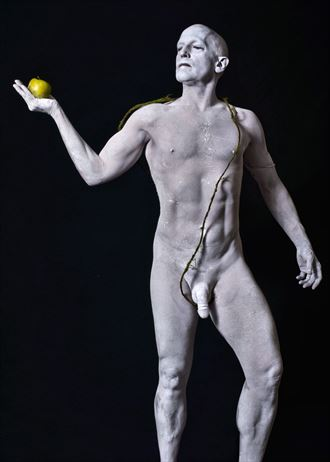 statuary 3 artistic nude photo by model avid light