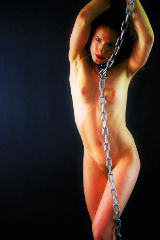 steel and flesh artistic nude photo by photographer evoleye arts