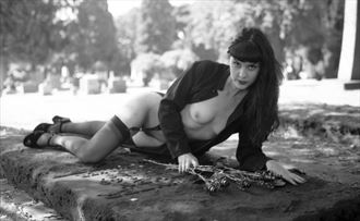 steel roses on your grave artistic nude photo by photographer georgevp