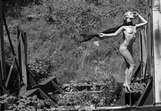 steven grover artistic nude photo by model marie brooks
