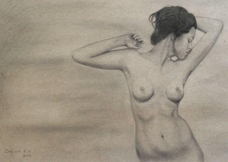 steven__29_03_2014 Artistic Nude Artwork by Artist StevenEls
