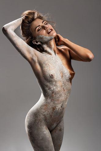 stone bronze life artistic nude artwork by photographer dmitrii svetov