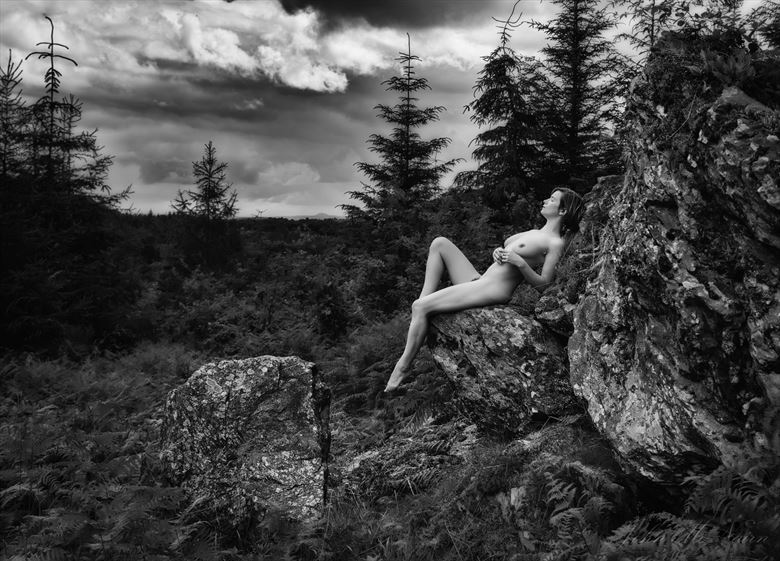 storm dreamer artistic nude photo by photographer john mcnairn