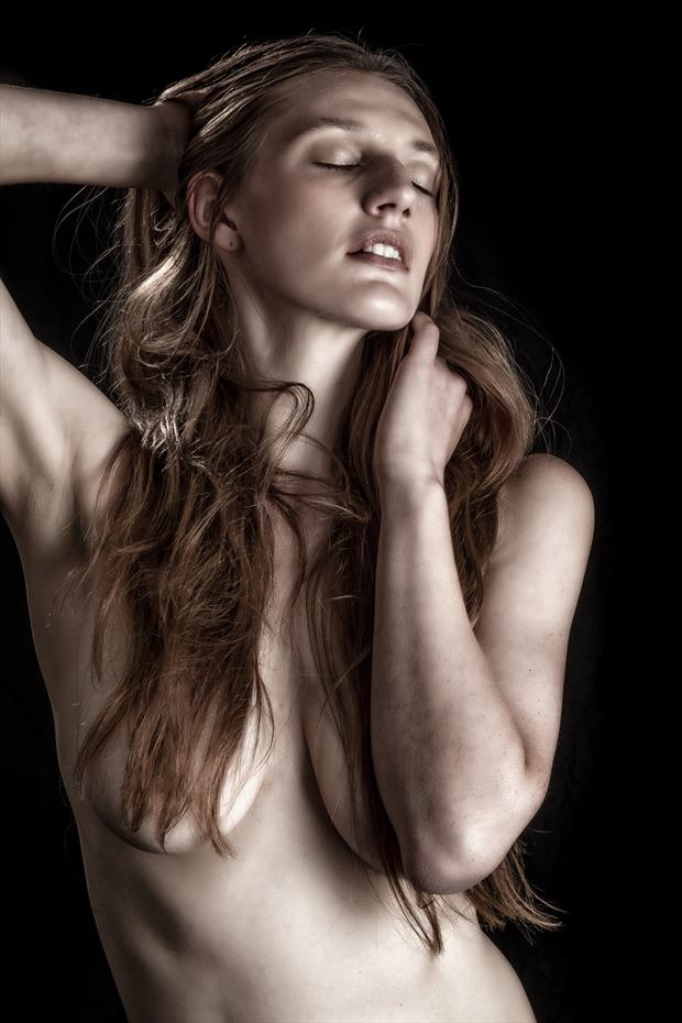 strategic hair chiaroscuro photo by photographer rick jolson