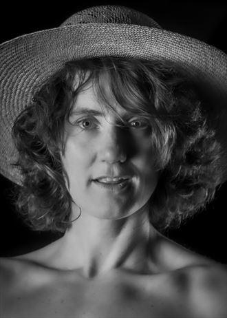straw hat vintage style photo by photographer marshallart