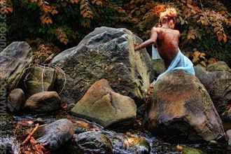 stream surreal photo by artist scott grimando