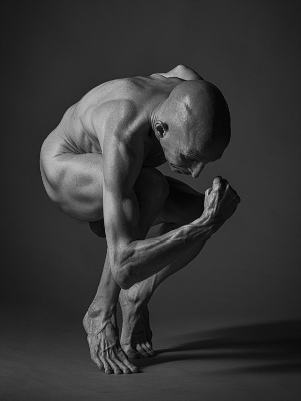 strength Artistic Nude Photo by Model Lars