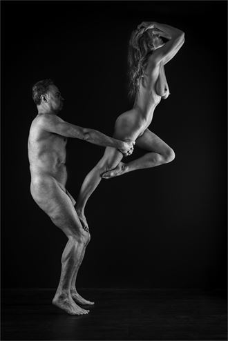 strength and grace 3 artistic nude photo by photographer dave belsham