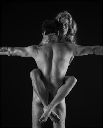 strength and grace 5 artistic nude photo by photographer dave belsham