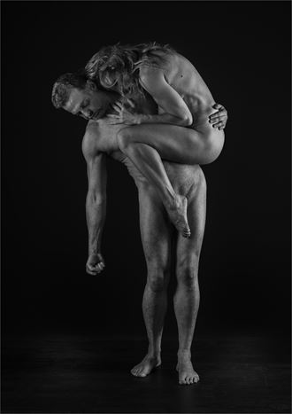 strength and grace 6 artistic nude photo by photographer dave belsham