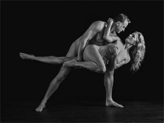 strength and grace 7 artistic nude photo by photographer dave belsham