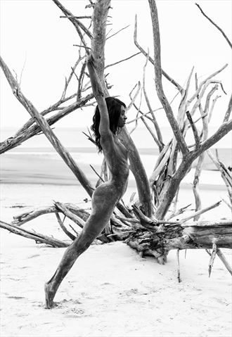 stretch it out artistic nude photo by photographer luke adam