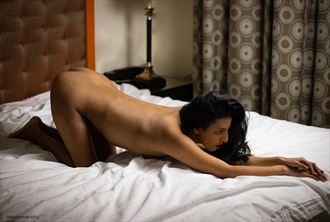 stretched artistic nude photo by photographer ishoot photography