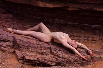 stretching artistic nude photo by photographer shootist