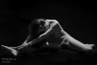 stretching out a bit artistic nude photo by photographer jack hall