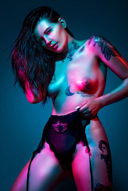 strong tattoos photo by model keelie kaos