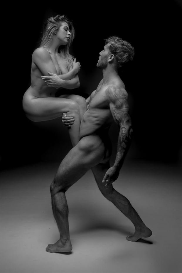 strongman artistic nude photo by photographer white tiger photography