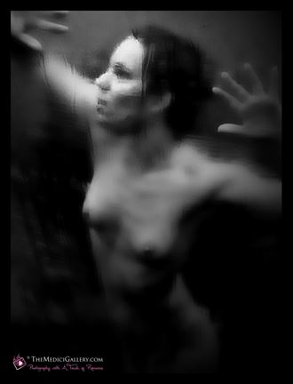 struggling against the depths of darkness figure study photo by photographer themedicigallery