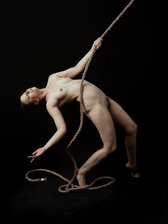 strung artistic nude photo by photographer colinwardphotography
