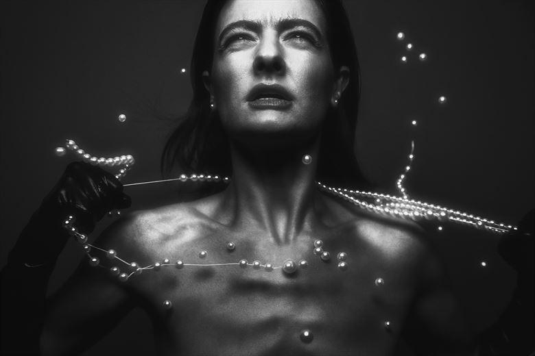 studio lighting artwork by photographer aj tedesco