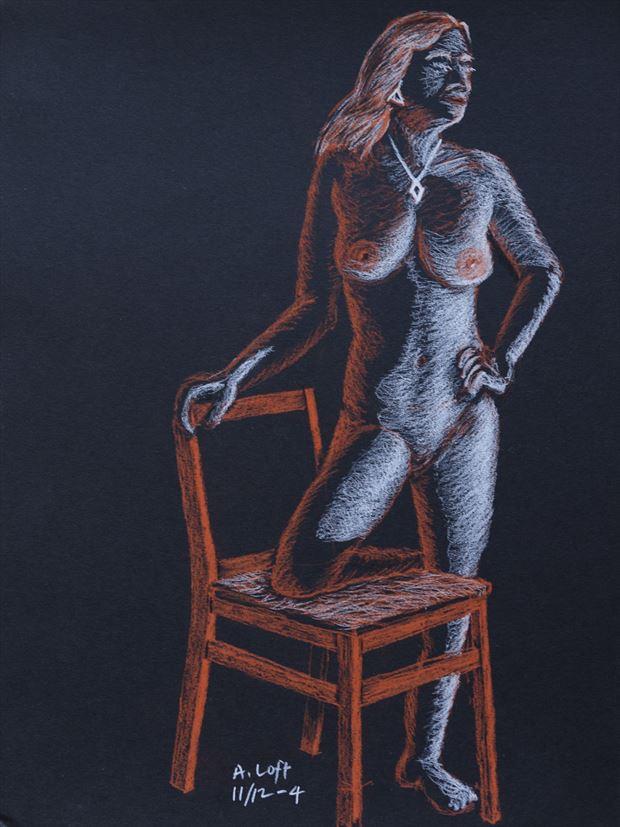 studio lighting figure study artwork by photographer alan h bruce