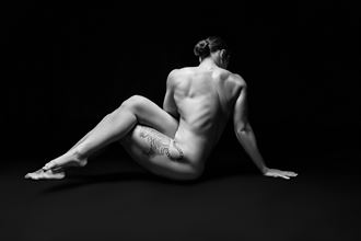 studio lighting figure study artwork by photographer mike fox