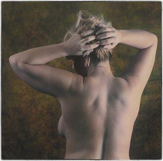 studio lighting implied nude artwork by photographer montezuma