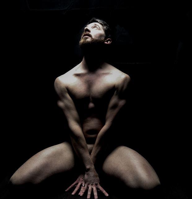 studio lighting implied nude photo by model j artsga