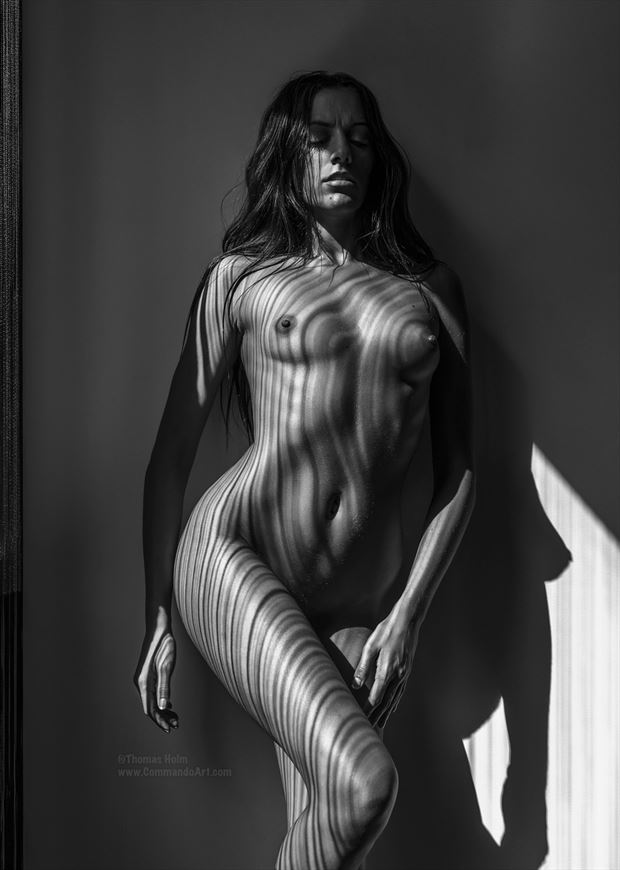 studio lighting painting or drawing artwork by model rebecca perry