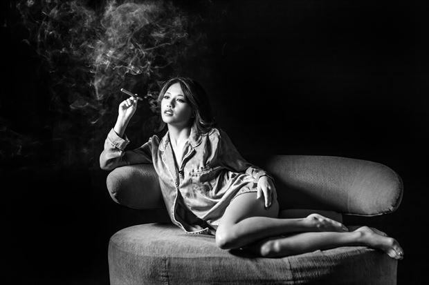 studio lighting portrait artwork by photographer yoga chang