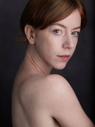 studio lighting portrait photo by model liv sage