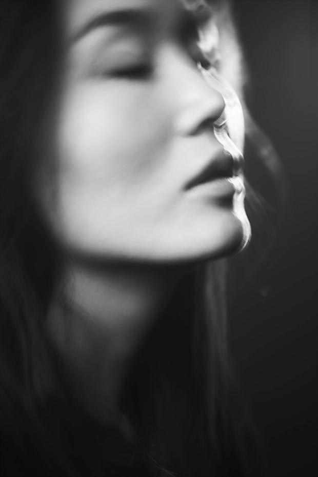 studio lighting portrait photo by photographer dmr