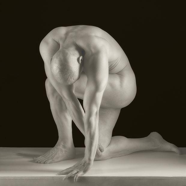 studio nude 4 artistic nude photo by model nudedancer
