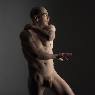 studio nude artistic nude photo by model nudedancer