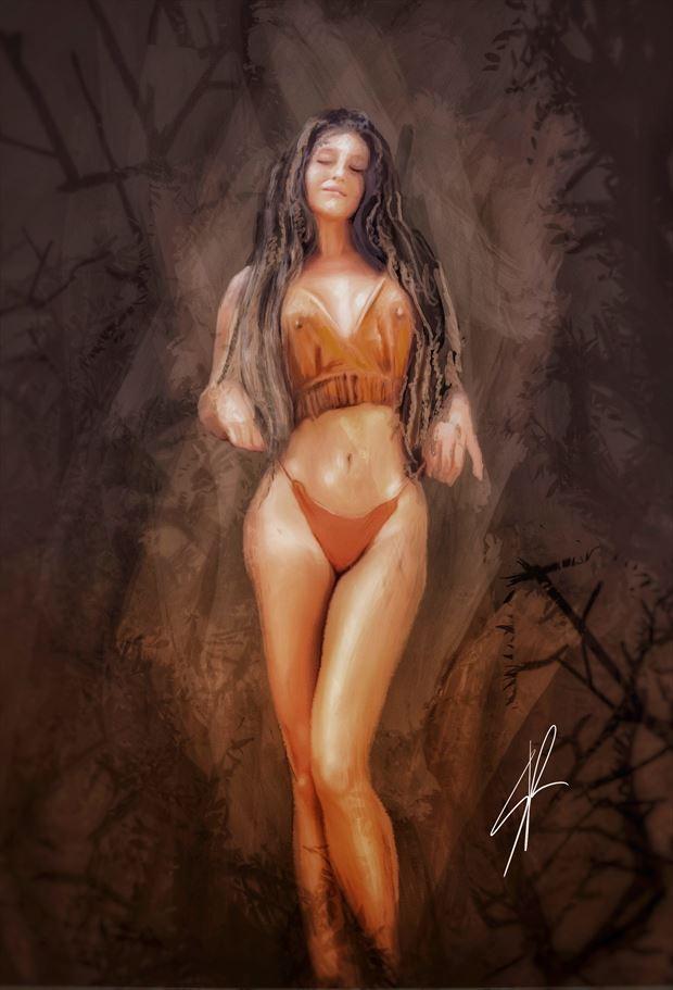 studio sensual artwork by artist riccardo scavo