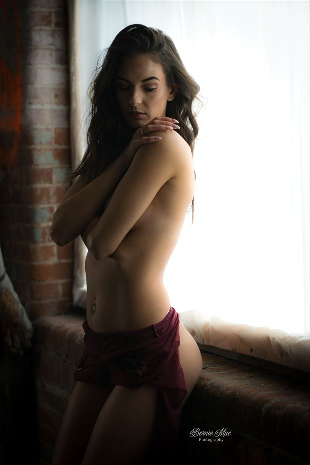 stunning in soft light lingerie photo by photographer twistedkiltphoto