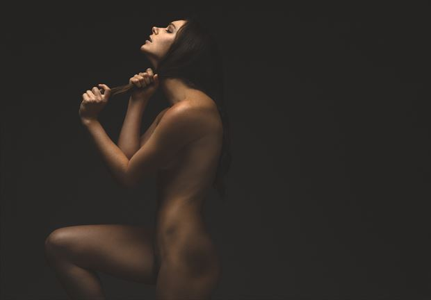 suffocate artistic nude photo by photographer robertxc