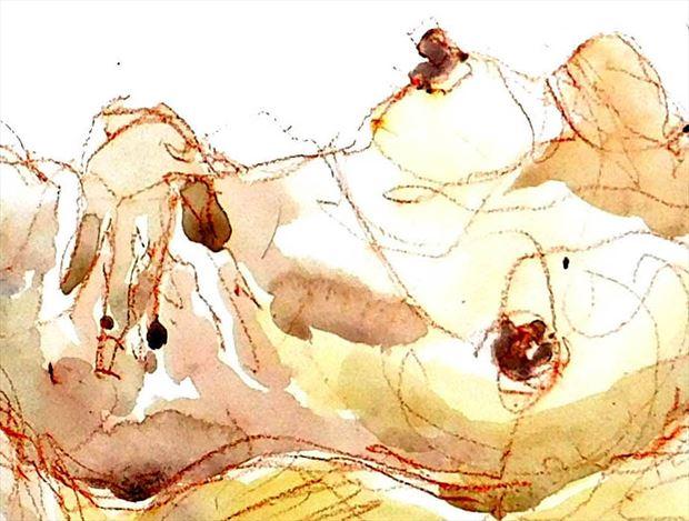 suggestions figure study artwork by artist roger burnett